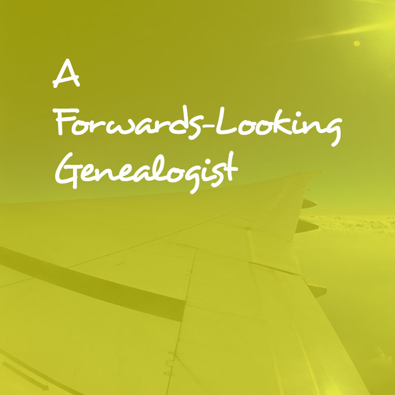 A Forwards-Looking Genealogist