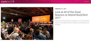 RootsTech website